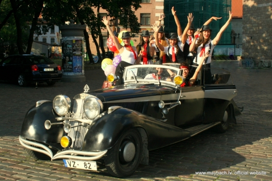 ДЕВИЧНИК THE CABARET GIRLS & MAYBACH AVE MARIA.