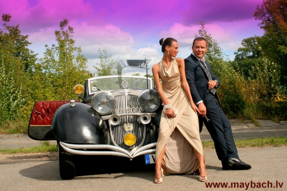 MAYBACH AVE MARIA 1940 - GANGSTER STYLE'S WEDDING !