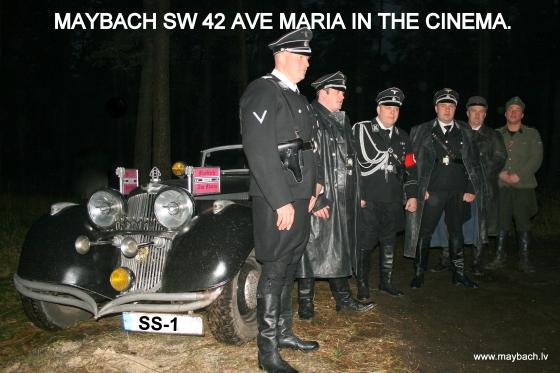 МАЙБАХ АВЕ МАРИЯ НА СЪЁМКАХ ФИЛЬМА  В