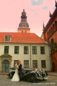 MAYBACH AVE MARIA - WEDDING IN OLD RIGA ( LATVIA).